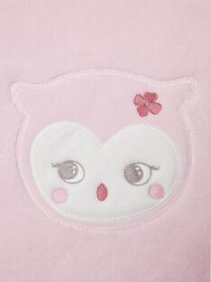Copertina rosa chiaro nascita bambina BOA / 21H0AF41D4P301