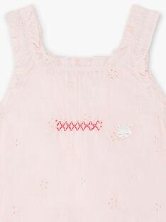 Pagliaccetto in tulle rosa chiaro neonata ZOMILA / 21E0CFY1ENS301