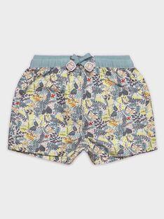 Shorts mare con stampa giungla neonato TIBASTIEN / 20E4BGI1MAI001