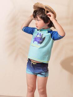 Costume da bagno blu bambino ZYMUAGE / 21E4PGR4MAIC214