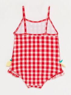 Costume da bagno vichy neonata TICINDY / 20E4BFI1MAI001