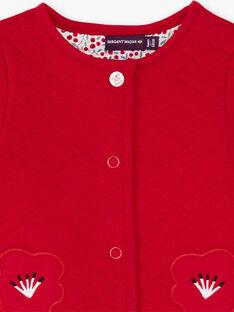 Cardigan double face maniche lunghe neonata BAANOUK / 21H1BF12CARF505