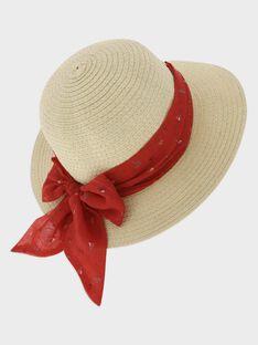 Cappello di paglia bambina TUILOETTE / 20E4PFW1CHA009