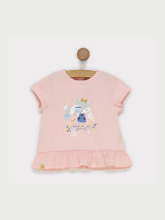 T-shirt maniche corte rosa RADELPHINE / 19E1BF61TMC301