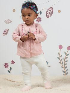 Set camicia a quadri e leggings in maglia neonata BAGULIE / 21H1BF91ENSD329