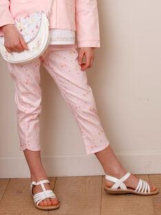 Pantaloni da cerimonia a fiori bambina TYPOETTE / 20E2PFJ1PCO321