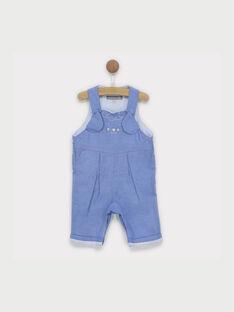 Salopette blu jeans RYALBERT / 19E0CG12SAL704