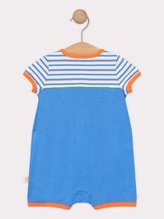 Tutina blu neonato TEVELI / 20E5BGE2GRE201