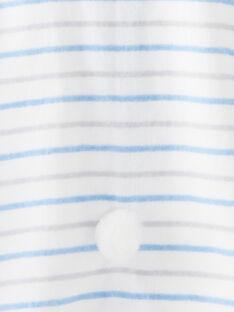 White BATHING CAPE VENATHAN / 20H5BG21CDB000