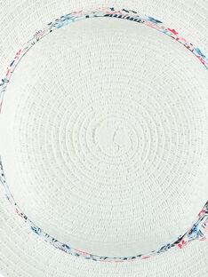 Cappello bianco RAMAMA / 19E4BFE1CHA001