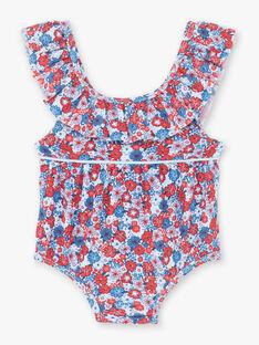 Costume da bagno celeste neonata ZISOLEIL / 21E4BFR1MAI020