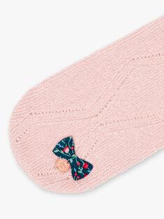 Sciarpa rosa neonata BINAIA / 21H4BFC1ECHD329