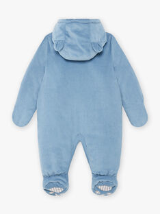 Tutina imbottita in velluto a costine neonato BIRACHEL / 21H1BGE2PIL216