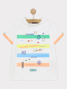 T-shirt maniche corte bianca RUACIAGE / 19E3PGP1TMC000