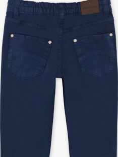 Pantaloni navy bambino ZAZITAGE1 / 21E3PGK2PAN070