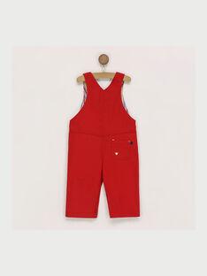 Salopette rossa RAERWAN / 19E1BGC1SAL505