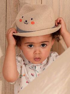 Cappello beige ricamato orso ZAKACI / 21E4BGJ1CHAA010