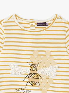 T-shirt maniche lunghe bambina ZERUCHETTE / 21E2PF91TML001