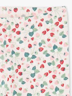 Leggings rosa chiaro stampa fragola ZOJUETTE / 21E4PFJ1CAL301