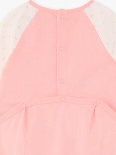 Tutina rosa neonata ZECHLOE / 21E5BF14GRED323
