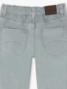 Pantaloni grigio chiaro bambino ZAZITAGE4 / 21E3PGK5PAN631