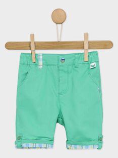 Pantaloni Capri Verdi RAURSULE / 19E1BGP1PCO611