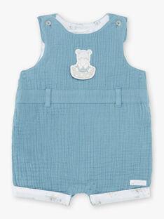 Salopette corta blu neonato ZOLOUIS / 21E0CGY1CBL714