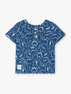 T-shirt blu neonato ZAEFRON / 21E1BGB1TMCC230