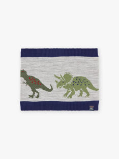 Scaldacollo bicolore dinosauro bambino BAFILAGE / 21H4PGD3SNO943