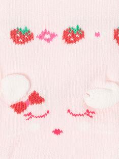 Calzini rosa chiaro con motivo topolino ZAAYA / 21E4BFJ2SOB301