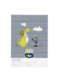 Kit pappa blu e bianco ROPASBOY / 19EZLAX1KTR001