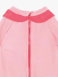 Tuta mare rosa fluo neonata ZISIRENE / 21E4BFR1CBBD311