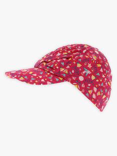 Cappellino con stampa a fiori bambina TIUBETTE / 20E4PFQ1CHAF510