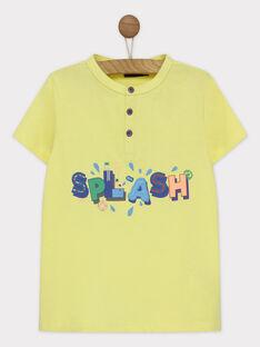 T-shirt maniche corte ecrù RUALOUAGE / 19E3PGP2TMCA007