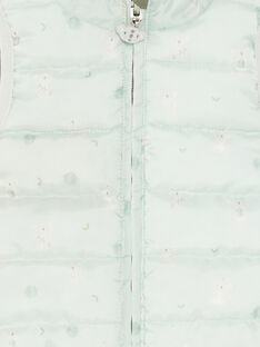 Piumino kaki senza maniche ZUBENITO / 21E1BGM1GSM604