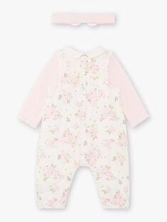 Completo body, tuta e fascia nascita bambina BOYE / 21H0CF41ENS301
