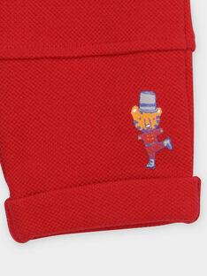 Pantaloni sportivi rossi RAERVE / 19E1BGC1JGB505