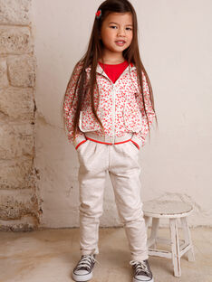 Pantaloni sportivi bambina ZLYMIETTE / 21E2PFK1JGBA011