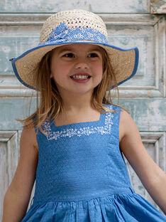 Cappello di paglia bambina ZULUETTE / 21E4PFT1CHA009