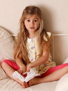Pigiama giallo bambina ZELAETTE / 21E5PF12PYJB102