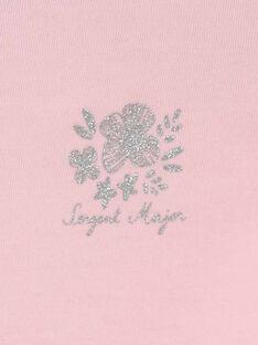 T-shirt maniche corte rosa RUFAPETTE 4 / 19E2PFP2TMC321