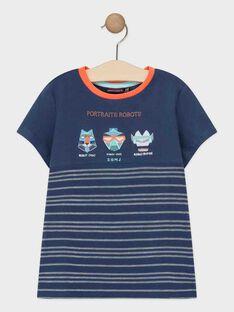 T-shirt maniche corte navy bambino TIAZAGE / 20E3PGP1TMCC205