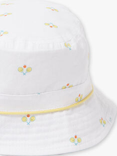 Cappello ecrù neonato ZAMAEL / 21E4BGO1CHA001