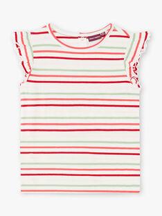 Completo abito salopette e t-shirt a righe ZOCHUETTE / 21E2PFJ1ENSP269