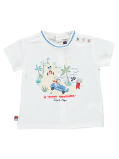 T-shirt maniche corte bianca RAPABLO / 19E1BGH1TMC000