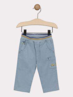 Pantaloni neonato blu-grigio SAKURTY / 19H1BG61PAN205