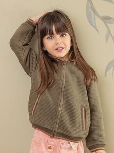 Cardigan kaki bambina ZASOETTE / 21E2PF71CAR604