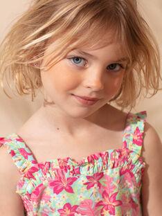 Abito da spiaggia rosa bambina ZAOFAETTE / 21E2PFQ1RBSC216