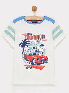 T-shirt maniche corte bianca ROCAGE / 19E3PGH1TMC000