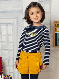 Shorts gialli bambina BIKIETTE / 21H2PF51SHO109